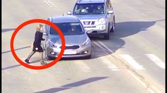 Stupid Car Driving Behavior Mistake Compilation - November 15, 2016