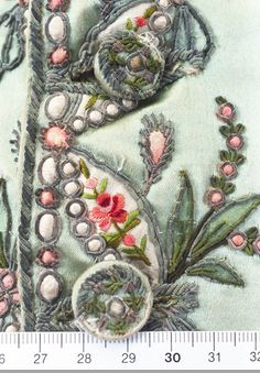 The Ornamented Being - fantastic embroidered vintage garments