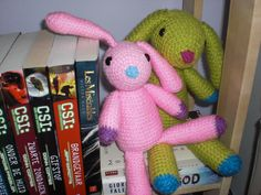 Flopsy: Little Sis' and Big Bro' (TheNerdyKnitter)