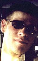 Army Sgt. William C. Eckhart  Died April 10, 2004 Serving During Operation Iraqi Freedom  25, of Rocksprings, Texas; assigned to 4th Cavalry, 1st Infantry Division, Schweinfurt, Germany; killed April 10 by an explosion of unknown origin while he was on an anti-mortar mission in Baqubah, Iraq.