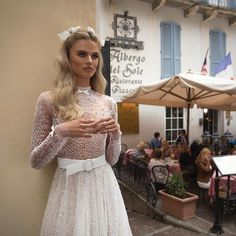 #JulieVino #vakkowedding #bridal Lace Skirt, Bridal, Skirts, Fashion, Moda, Fashion Styles, Brides, Bride, Wedding Dress
