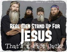 Duck Dynasty guys  #Jesus