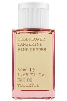 It's hard to believe this perfume is under $40. Not only is the bottle straight out of a charming apothecary, the juice inside is a surprising blend of spicy, wake-you-up citrus, pretty, light florals, and sexy woodiness.Korres Bellflower Tangerine Pink Pepper Eau de Toilette, $38.50, available at Sephora. #refinery29 http://www.refinery29.com/cheap-perfumes-for-women#slide-3
