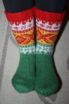 Haha! Zum Nachstricken - Kvikk Lunsj Socken! Kvikk Lunsj Sokk !: