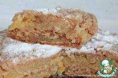Венгерский насыпной яблочный пирог