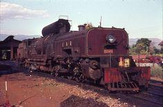 East African Railways No. 5505 Locomotive