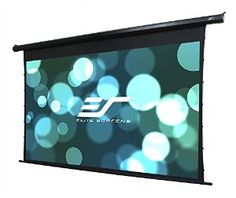 Elite Screens Spectrum Tab-Tension Ceiling/Wall Mount Electric Projection Screen inch Aspect Ratio) (MaxWhite) - inch x inch - MaxWhite ELECTRIC WALL Color: Multicolor. Cheap Projector Screen, Diy Projection Screen, Inflatable Movie Screen, Energy Star, Colorful Pictures, Spectrum, 3 D, Cool Things To Buy