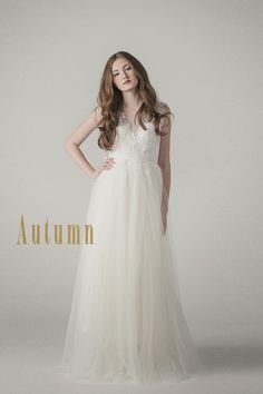 Sarah Seven Autumn Gown from the new Spring 2015 collection