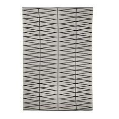 Bloomingville Vloerkleed 140 x 200 cm - Grijs/Zwart - afbeelding 1