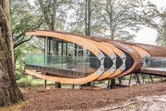 In Pictures: Bowcliffe Hall unveils The Blackburn Wing Pavilion Architecture, Japanese Architecture, Concept Architecture, Futuristic Architecture, Sustainable Architecture, Residential Architecture, Amazing Architecture, Contemporary Architecture, Architecture Details
