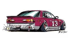 Nissan Silvia S13 Art