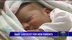 Baby Checklist for New Parents with UC Davis Health System's Dr. Ronald Fong