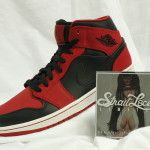 Retro 1 Red & Black (Size: 10)