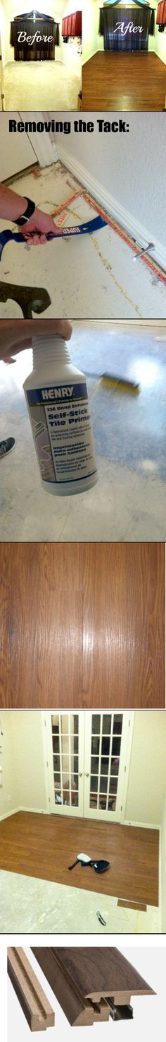 Here's a beginners project for flooring that is worth every penny!!