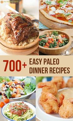 You always need new recipes and especially if you follow a Paleo diet, you really always need easy Paleo dinner recipes. I have lots of ideas!