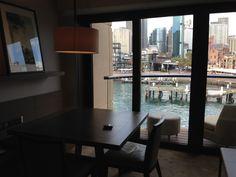 Evening View From Dining Room At Park Hyatt Sydney  Australian Unique Park Hyatt Sydney Dining Room Inspiration Design