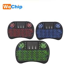 Wireless Keyboard GHz Russian or English Letters Multi-Media Backlight Air Mouse Remote Control Touchpad for mini Google Tv, Vista Windows, Keyboard With Touchpad, Mini Price, Control Key, English Letter, Mini Me, Linux, Multimedia