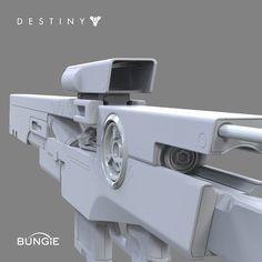 ArtStation - Destiny: Omolon Sniper Rifle A, David Stammel