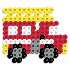 Perler Beads Silicone Pegboard Fused Bead Kit - Fire Truck by Perler Beads. $2.99. Makes a fire truck. For ages 6 years and above. Fused Beads by Perler. Contains 179 pieces. Flexible silicone pegboard and heat resistant pattern card. From the Manufacturer This Fire Truck Fused Bead Kit from Perler features a flexible silicone pegboard and heat resistant pattern cards. Includes 175 multi colored beads, pattern sheet, ironing paper and circle silicone pe...