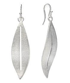 Marie Todd Modern Leaf Drop Earrings $135  The Marie Todd modern leaf drop earrings are a chic piece that keeps all the focus on you. Each of the organically shaped leaves are crafted of hand-finished sterling silver. The ear wires are for pierced ears.  Length: 2.5 inches Metal: Sterling silver