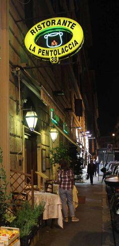 Restaurants in Rome: La Pentolaccia in via Flavia