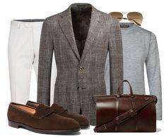 Fredagsinspiration - Pre Spring Mens Fashion Wear, Blazer Fashion, Smart Casual Men, Look Man, Mens Essentials, Suit And Tie, Well Dressed Men, Gentleman Style, Men Dress