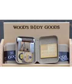 Perfect for the purist of adventure seekers, we hand-craft curated local artisan body care products, that are chock full of sass and free of the. Good 2 Go, Beer Soap, Natural Products, Deodorant, Body Care, Coasters, Branding, Packaging, Mini