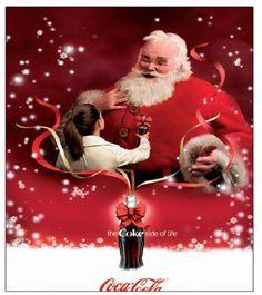 coke and santa | ... Vorfreude aufs Fest: Coca-Cola Santa Claus läutet die Festsaison ein