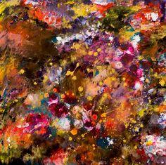 Art World, Art Gallery, Lisa, Floral, Artist, Painting, Abstract, Art Museum, Flowers