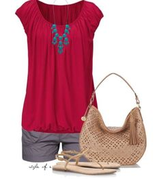 Cute for a summer outfit!