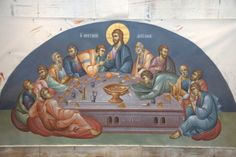3 posts published by iconsalevizakis during June 2013 Byzantine Icons, Byzantine Art, Church Interior, Religious Images, Last Supper, Orthodox Icons, Jesus Christ, Christianity, Leeds