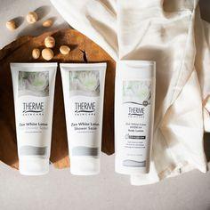 Shower Scrub, White Lotus, Body Lotion, Zen, Shampoo, Skin Care, Bottle, Skincare Routine, Flask
