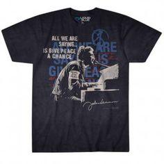 John Lennon John Lennon People For Peace Tie Dye T-shirt