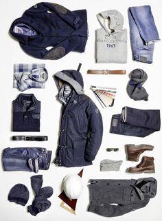 Explore Bastien Halard's story in our Marc O'Polo Diary of F/W 14. #marcopolo #followyournature #fashion #fw14