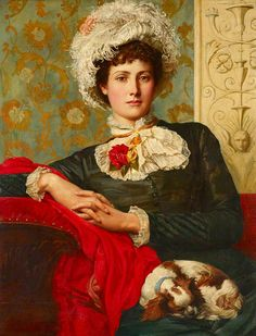 """Unprofessional Beauty"" -- by Valentine Cameron Prinsep posted by Irina via Flickr"