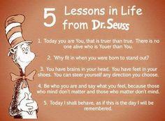 Dr. Seuss Quotes.