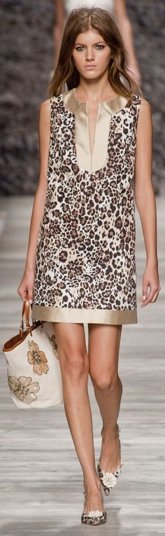 Yes, yes to this entire outfit!! Blugirl at MFW Spring 2014