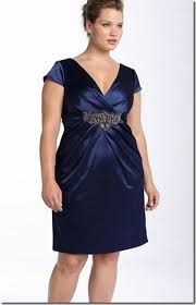 vestidos para señoras gorditas y bajitas - Buscar con Google