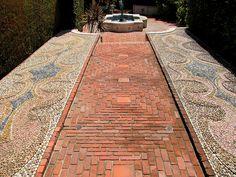 nice brick pattern
