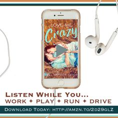 Who doesn't love a southern drawl!?! Check out the audio clip of LOVE ME CRAZY on Amazon. Warning: Falling Crazy In Love with Quinn is inevitable! Download your copy this Valentine's Day and fall into this southern new adult romance...there may be a turkey involved!  #LoveMeCrazy #newadult #contemporaryromance #romance #book #kindle #southernromance #southern #charlestonsc #indigo #camdenleigh #contemporary #lovestory #ebook #amwriting #authorlife #authorslife #audible #audiobook #amazon