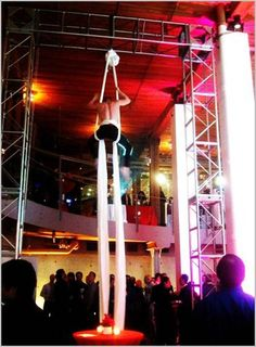 Aerial Performer at an LG Electronics Product Launch Event!