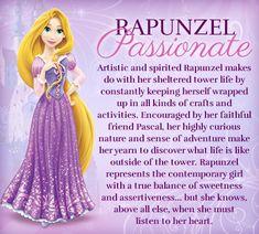 My favorite princess's Disney Princess traits: Rapunzel Disney Rapunzel, Film Disney, Disney Wiki, Princesa Disney, Disney Girls, Disney Love, Disney Magic, Disney Jasmine, Tangled Rapunzel