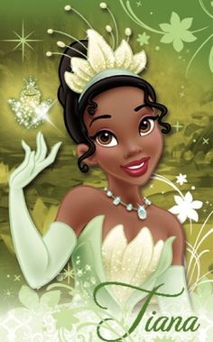 Princess Tiana from the Disney movie The Princess and the Frog [2009]