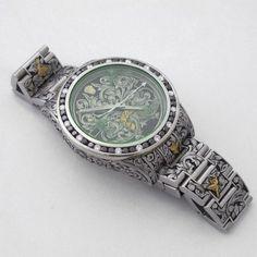 Fin Des Temps -Customize, Engraved Rolex Milguass.
