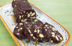 Italian chocolate salami! One of my favorite desserts in my studies abroad