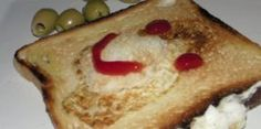 La recette du croque américain (Egg in the basket)