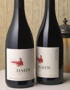 Hahn SLH Wine Hahn Family Wines Wine Label & Package Design Santa Lucia Highlands California