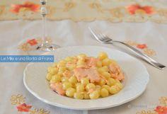 Le chicche di patate al salmone sono un buonissimo primo piatto da preparare molto velocemente e adatto a moltissime occasioni. Gnocchi, Asian Noodles, Pasta Bake, Fruit Salad, Biscotti, Macaroni And Cheese, Easy Meals, Food And Drink, Vegetables