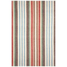Found it at Wayfair - Woven Ranch Stripe Area Rug