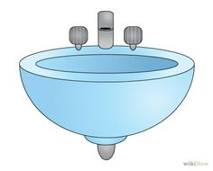 Bathroom Sink Drawing
